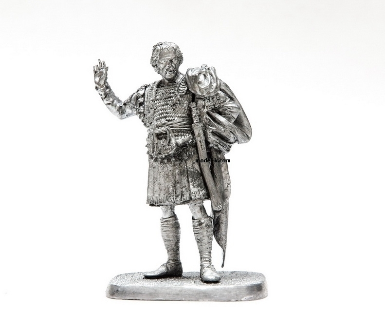 1:32 Scale Metal Miniature of FLAVIUS BELISARIUS