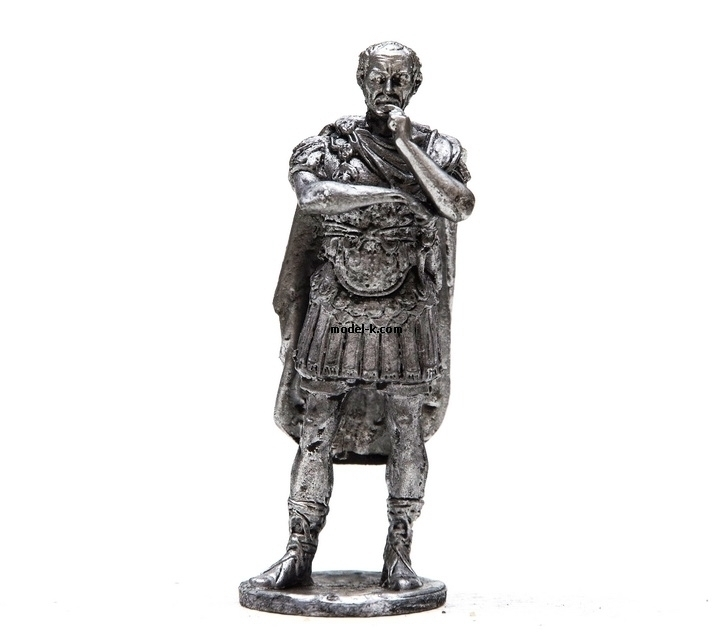 1:32 Scale Metal Figure of Gaius Julius Caesar
