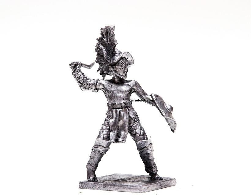 1:32 Scale Metal Figure of Gladiator-Thracian