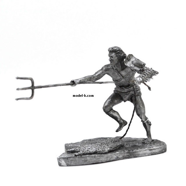 1:32 Scale Metal Figure of  Roman Gladiator