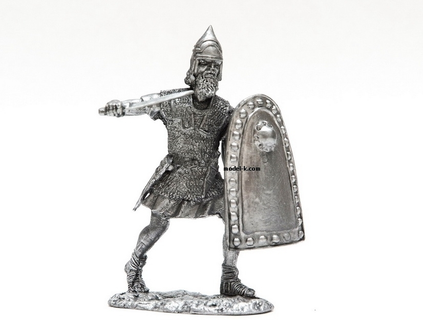 1:32 Scale Metal Miniature of Roman Legionnaire