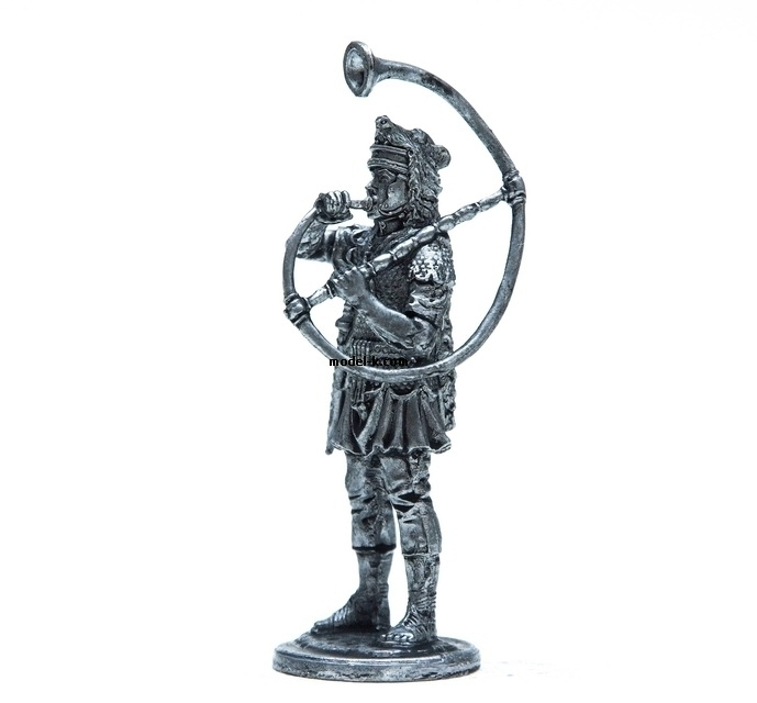 54mm Miniature of Roman Cornicen 1:32 Scale