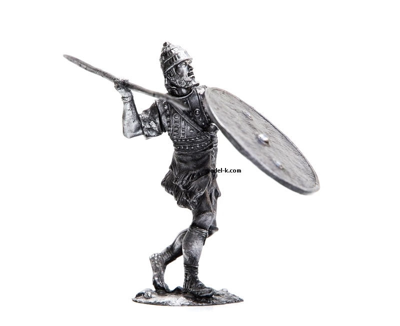 54mm tin figurine Patroclus