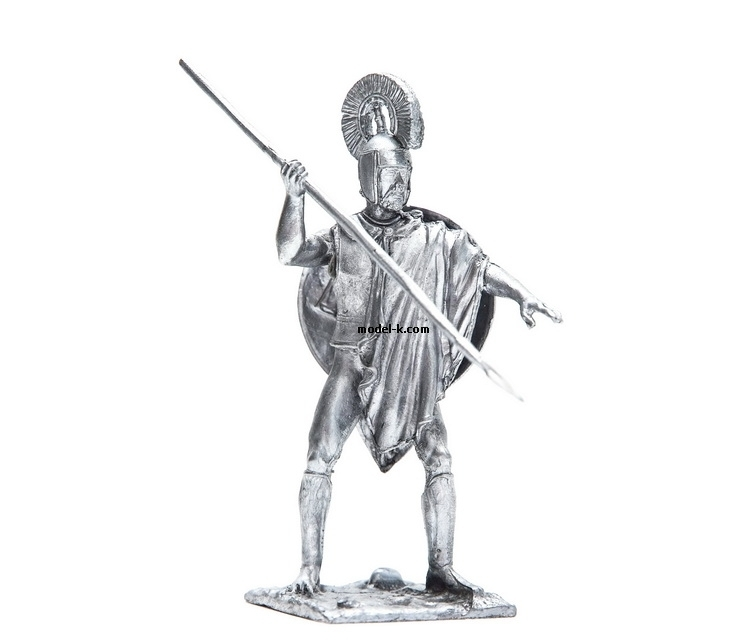 54mm tin figurine Ancient Greece, Hoplite