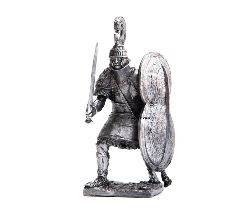 54mm tin figurine Charioteer hoplite