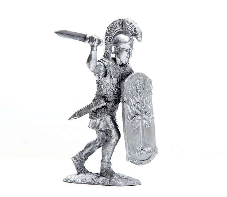 1:32 Scale Metal Miniature of Auxiliary Infantry