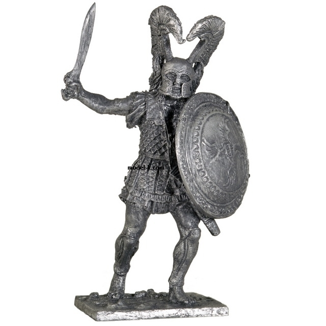1:32 Scale Metal Miniature of  Hoplite