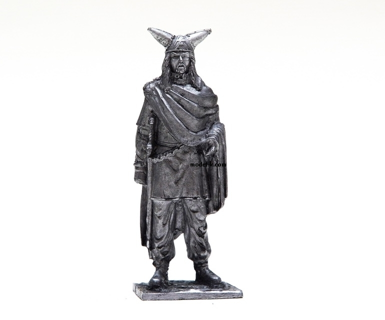 1:32 tin figure of Gauls Chief Scale Figure 1/32