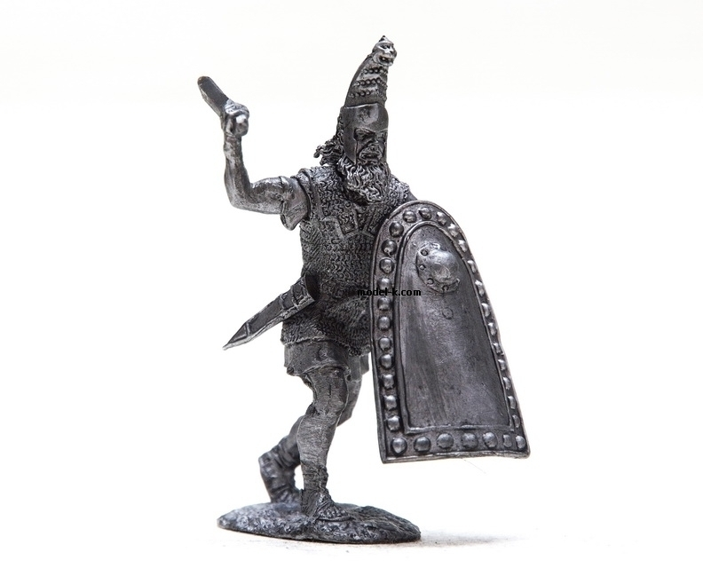 1:32 tin figure of Persian Warrior