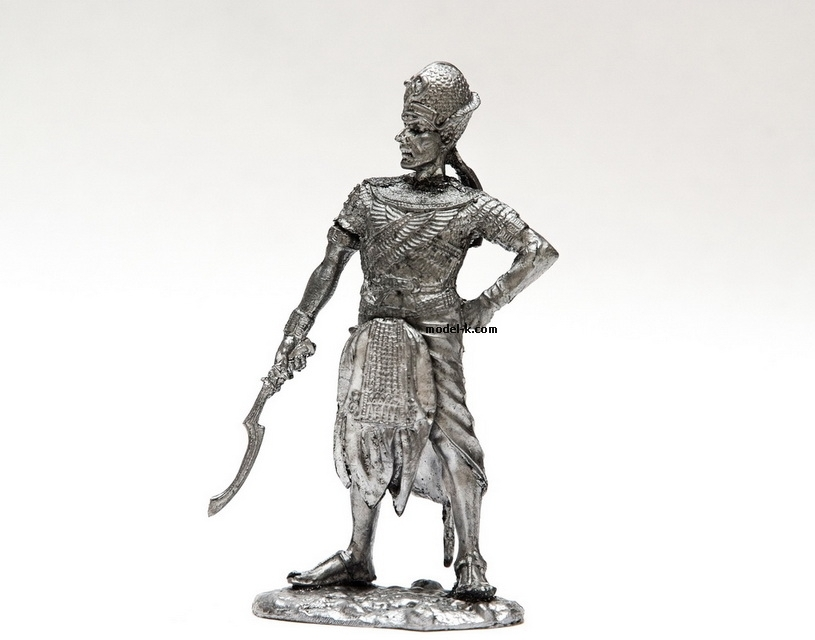 1:32 Scale Metal Miniature of Ramses II