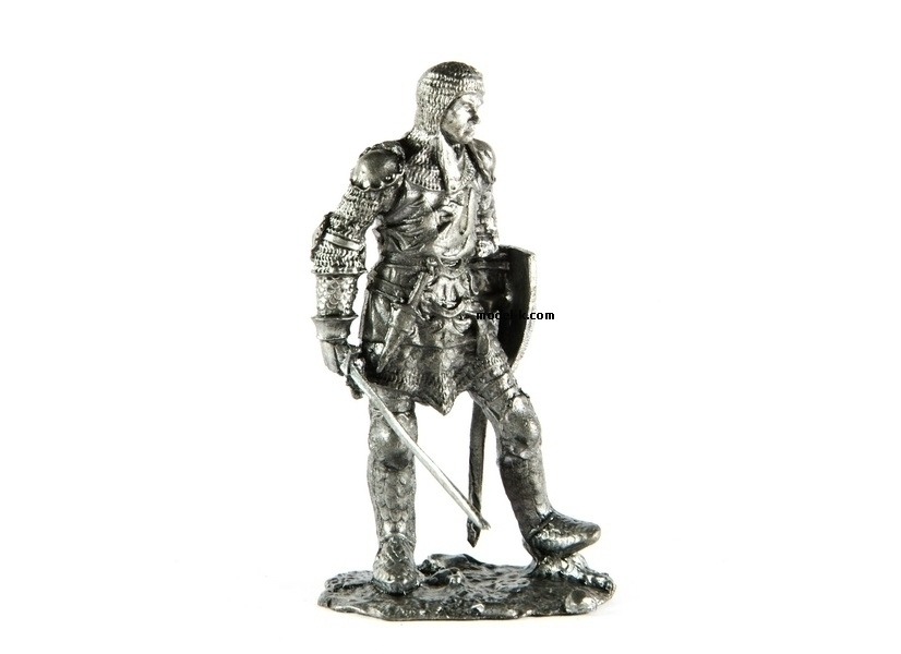 tin 54mm warrior. Bavarian Knight