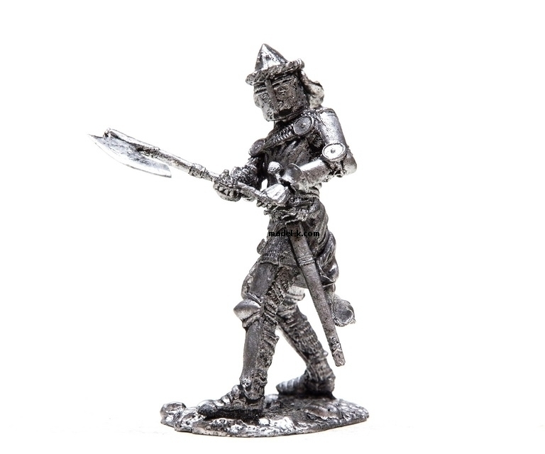 tin 54mm Figurine German Knight