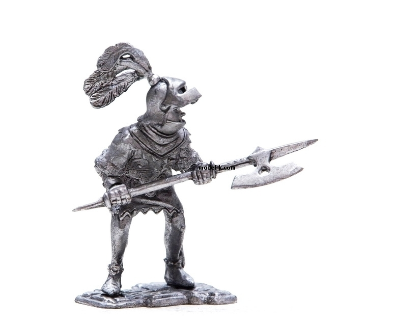 54mm tin soldier Knight. Europe