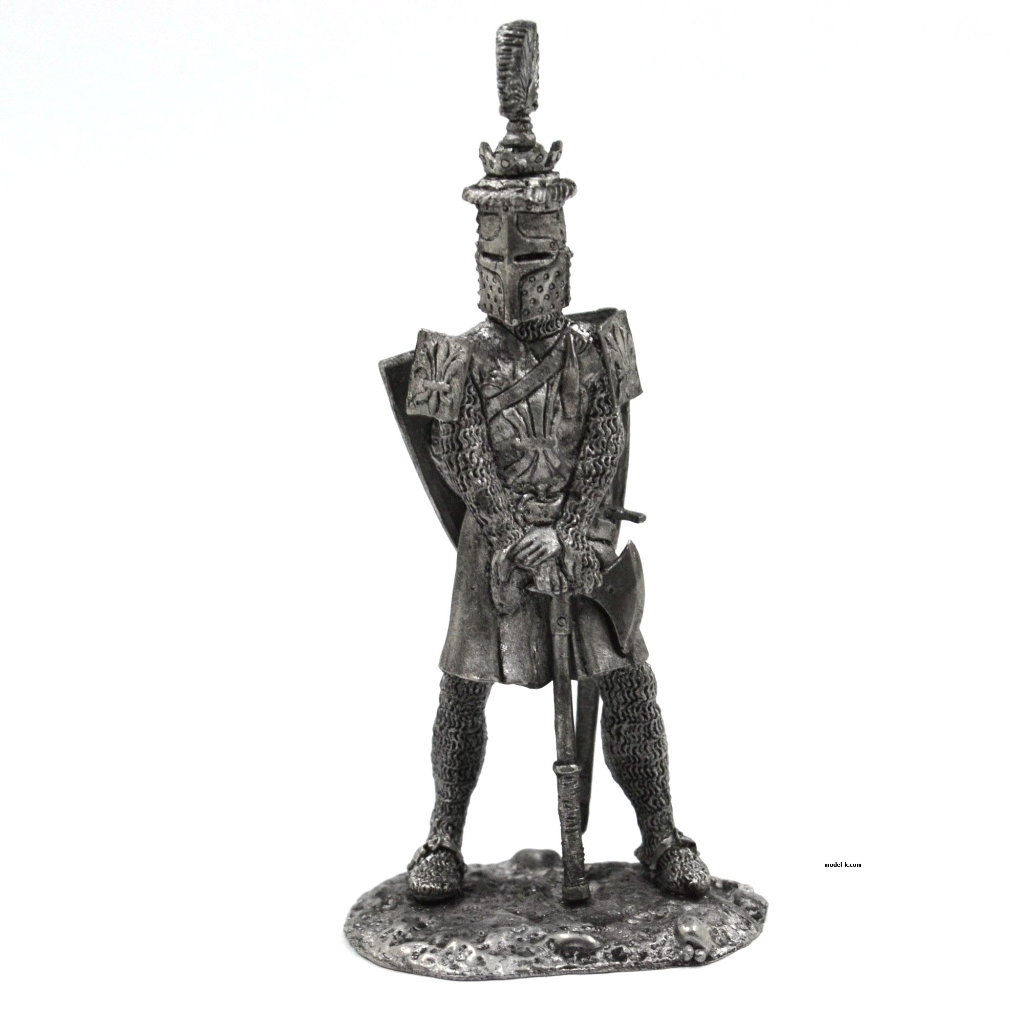 French King-crusader Louis  1:32 scale warrior