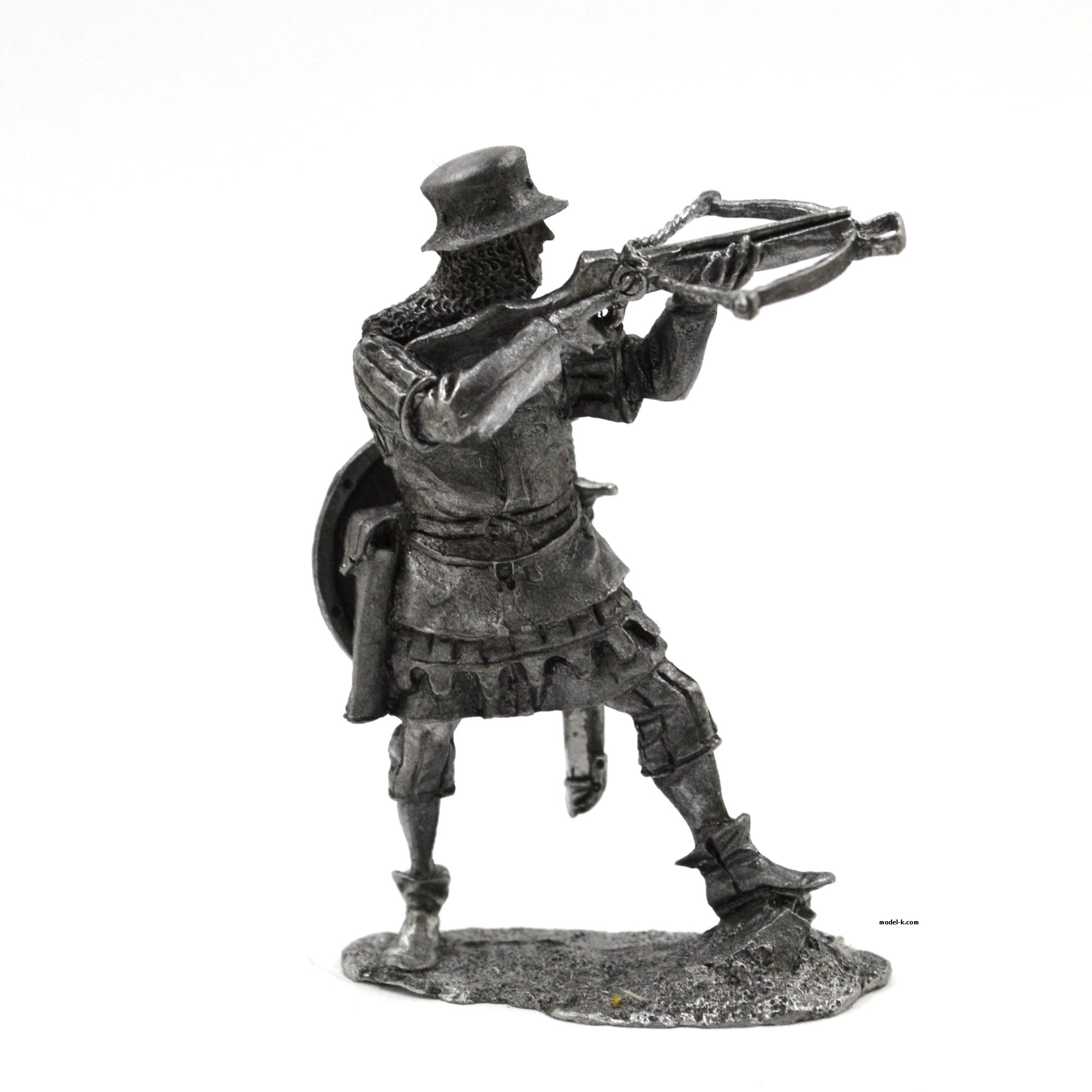 tin 54mm Figurine Teutonic arbalester