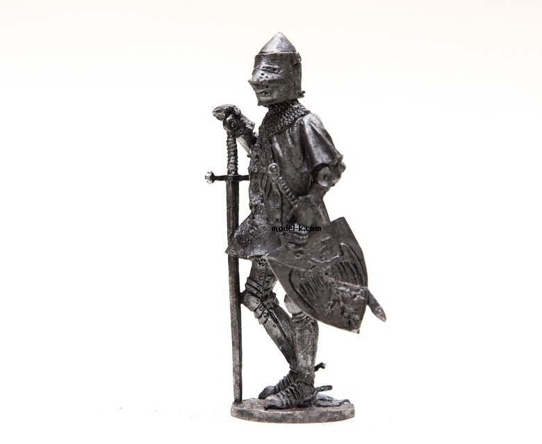 54mm tin soldier Eagle of Brittany