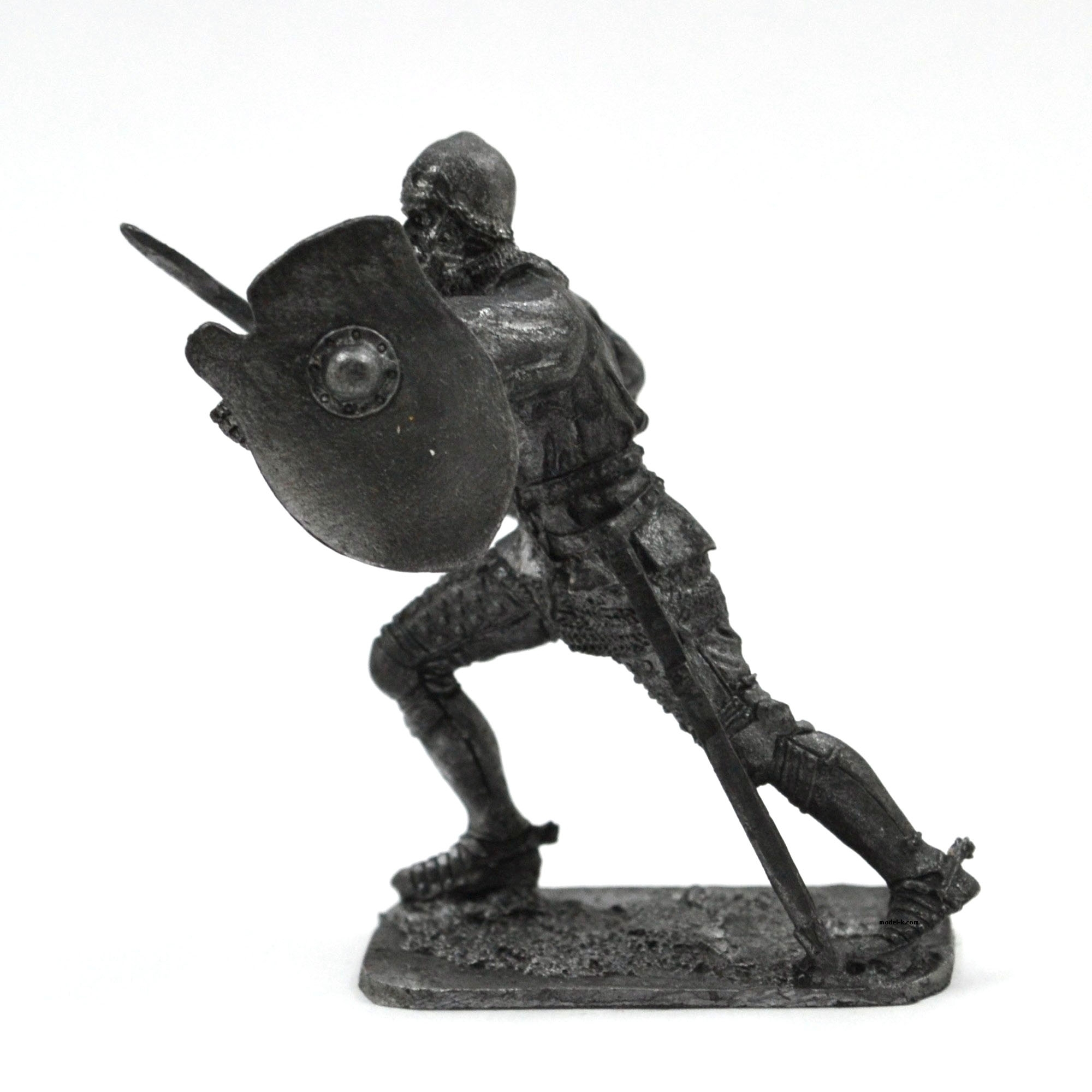 54mm tin soldier Medieval knight