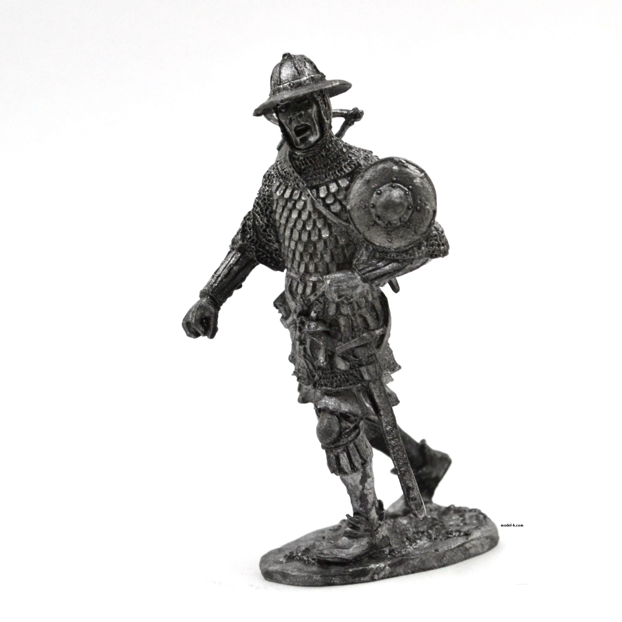 tin 54mm Figurine European crossbowman
