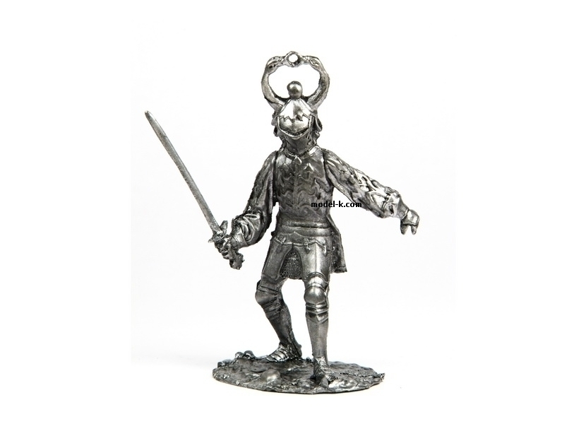 tin 54mm Knight. Ambassador in France