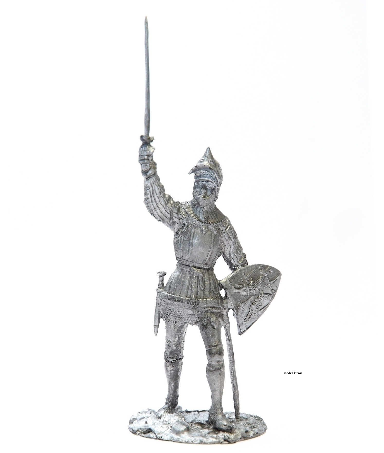 French Knight 54mm figure