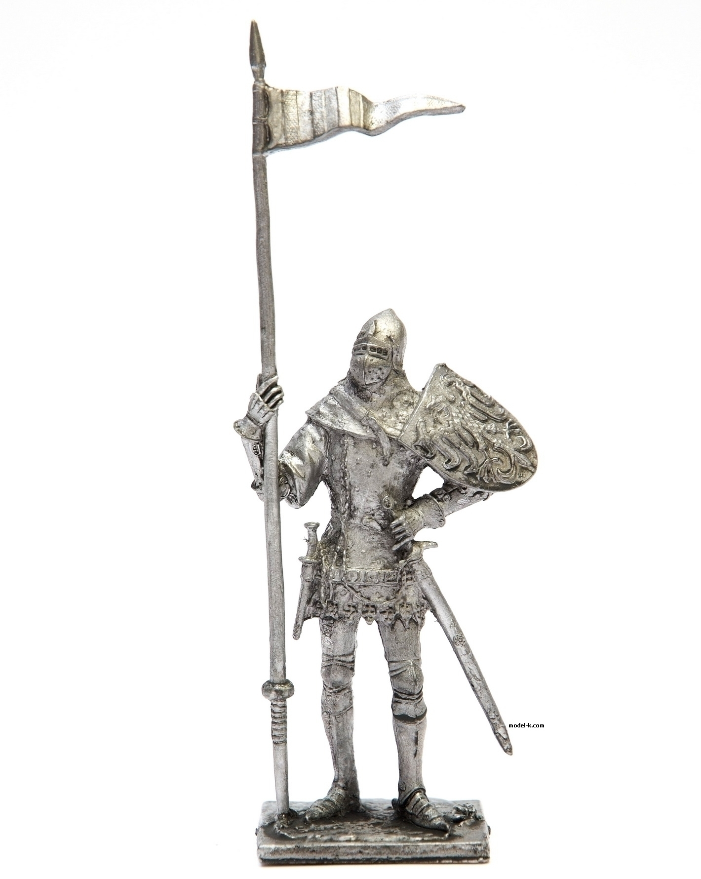Bohemian knight tin 54mm soldier