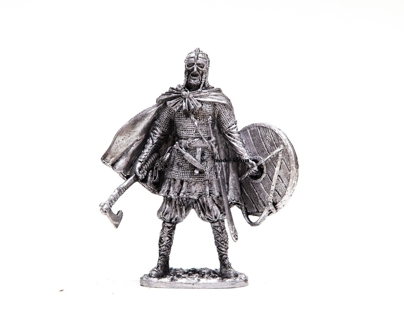 1:32 tin figure of Viking