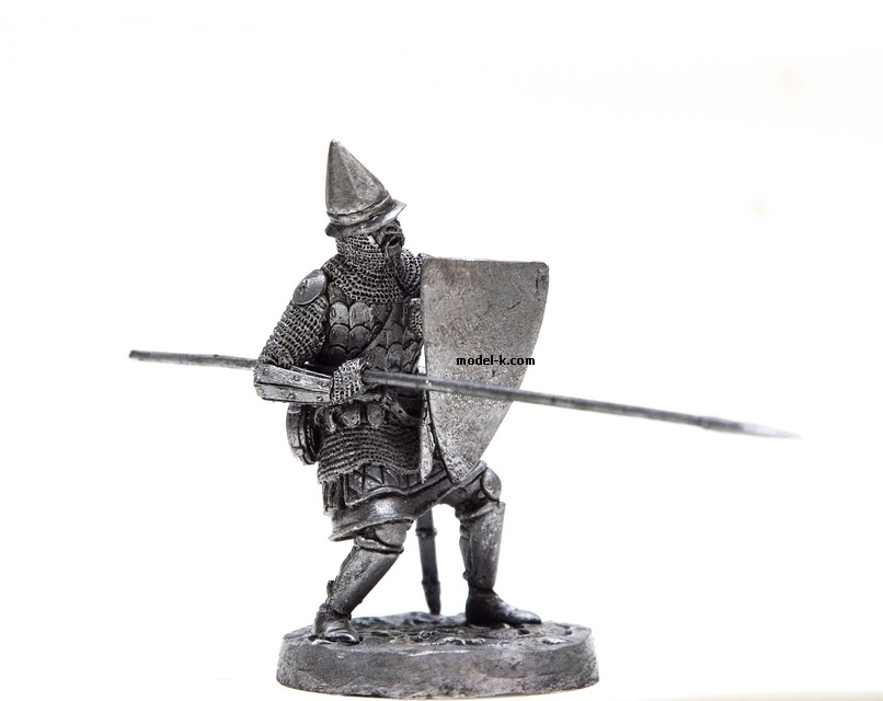 1:32 tin figure of Russian foot soldier