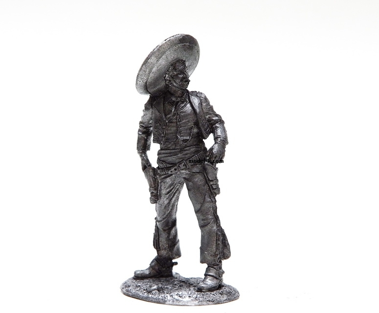 Metal Figurine of the Mexican shooter
