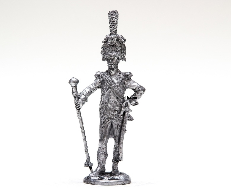 1:32 Scale Metal Miniature of Tambour-major