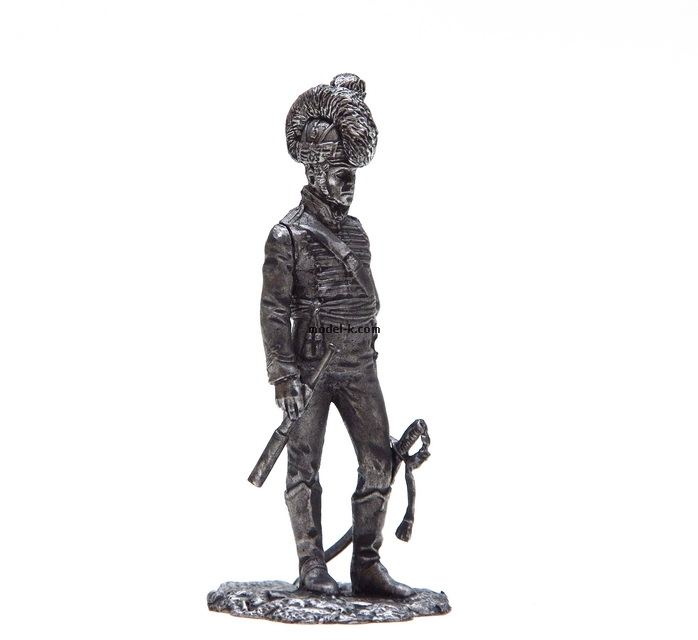 1:32 Scale Metal Miniature of Cavalry Officer