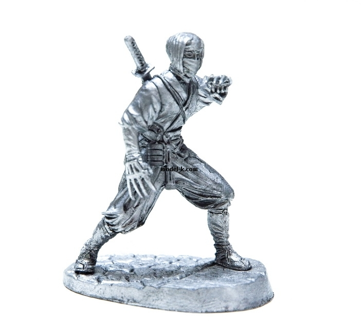 1:32 tin figure of Japan Ninja