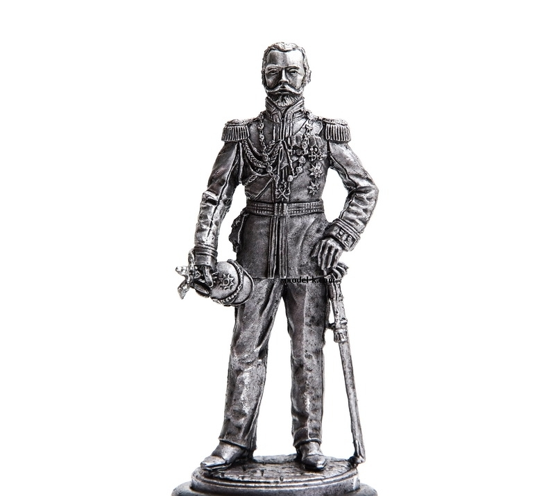 1:32 Scale Metal Miniature of Nikolay Romanov