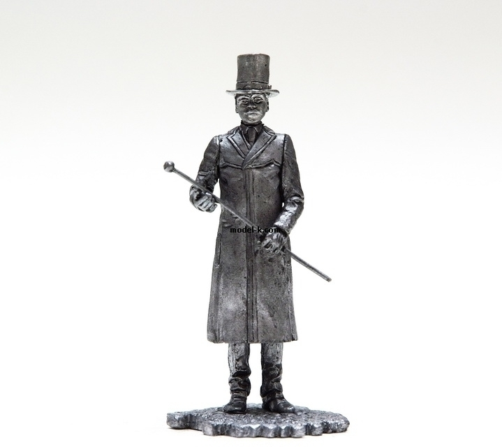 1:32 Scale Metal Miniature of Dr. Watson