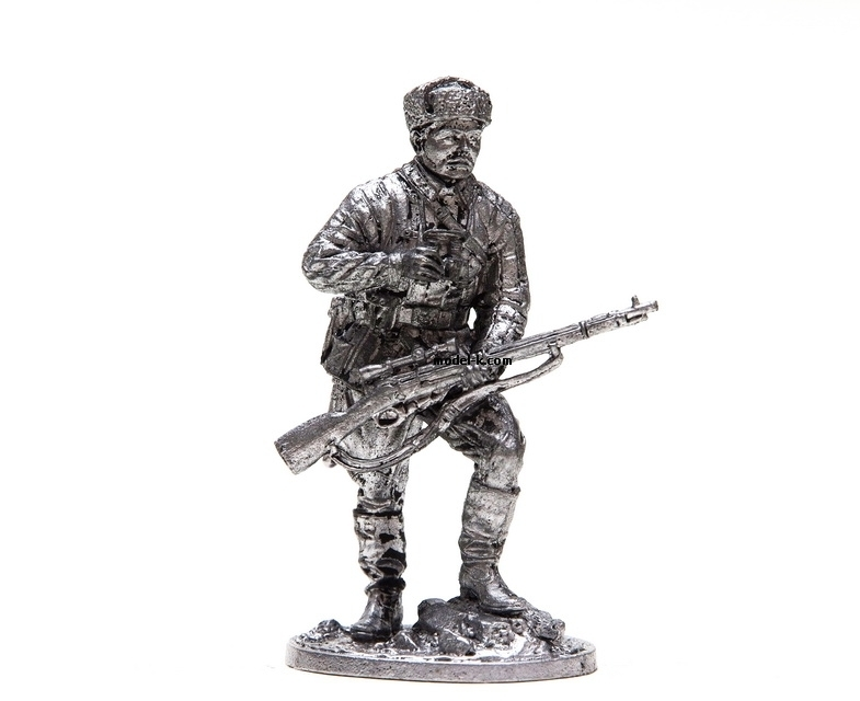 54mm figure of Vasily Zaicev