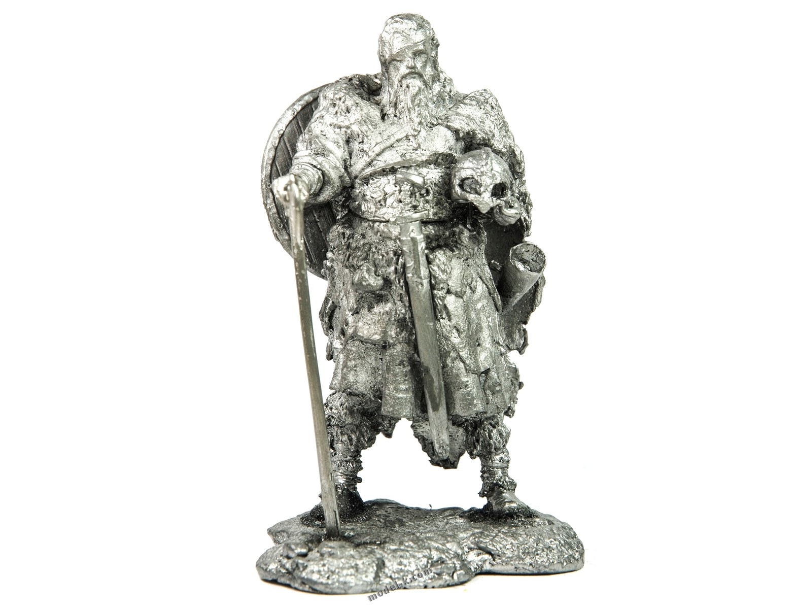 Viking with Eye Patch 75mm tin soldier