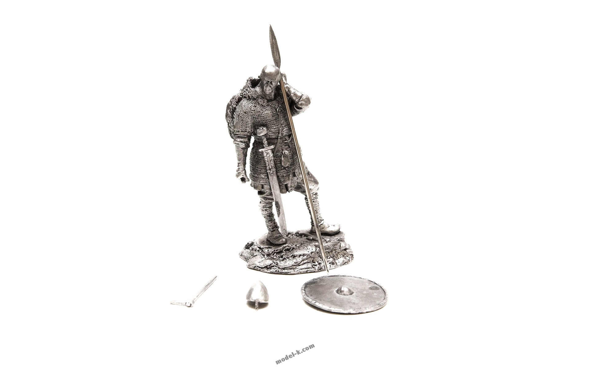 75mm metal sculpture The Heathen Viking Warrior