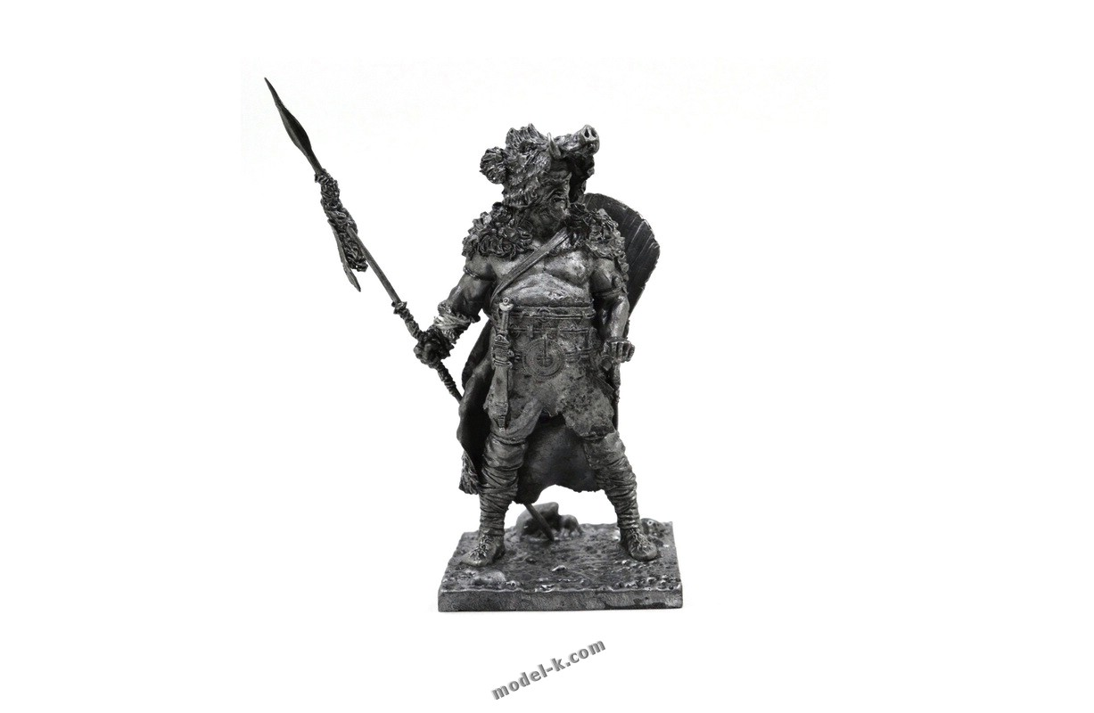 75mm figure Celtic warrior. Boar