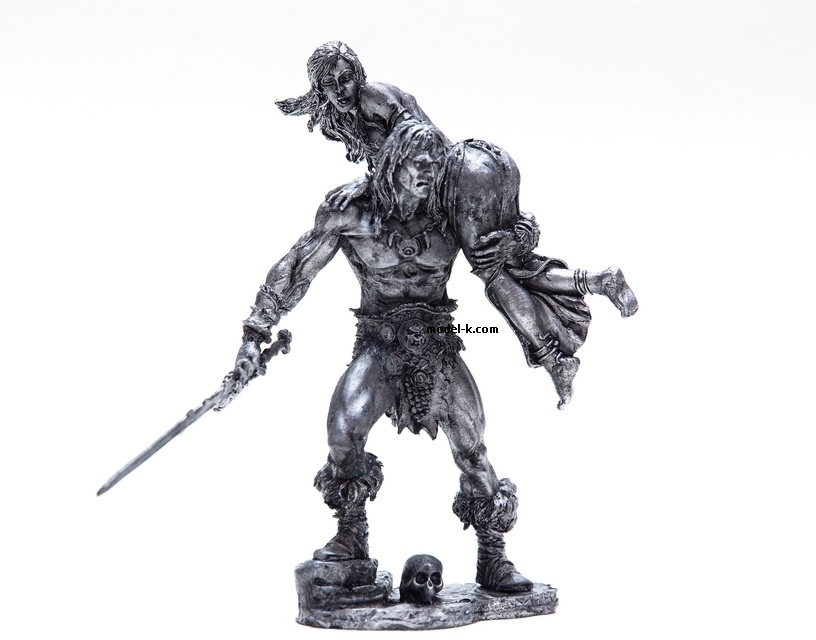Metal Castings Figure of 1:24 Scale Figurine