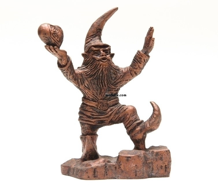 Wroclaw Gnome, WrocLover, tin, figure, metal sculpture, white metal castings, poland figure
