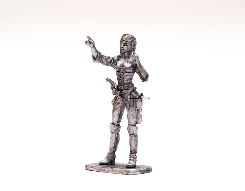 54mm figure of Pirate Woman.