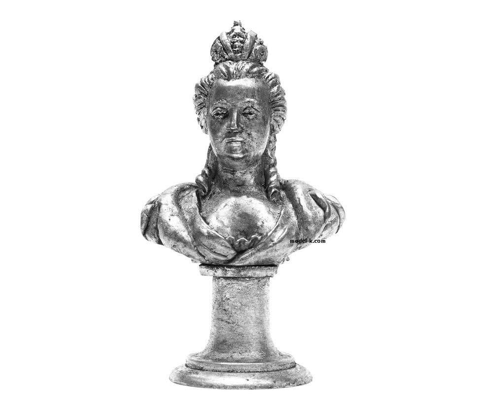 70mm High  Bust of Catherine the Great