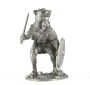 1:32 Scale Metal Figure of Velite. Light Infantry. II-I cent. BC