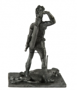 54mm Miniature of Amazon warrior Diana with a bow 1:32 Scale