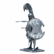 1:32 Scale Metal Miniature of Thespian hoplite