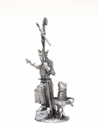 tin 54mm metal castings. Bishop of the Teutonics Knights