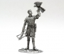 tin 54mm France. Norman Knight with a Falcon.