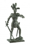 Tin 1:32 Figure of Captain Edmund Deton