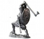 toy 54mm metal figurine of Viking warrior