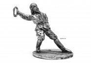1:32 Scale Metal Miniature of Metal Figurine Russian with Vodka